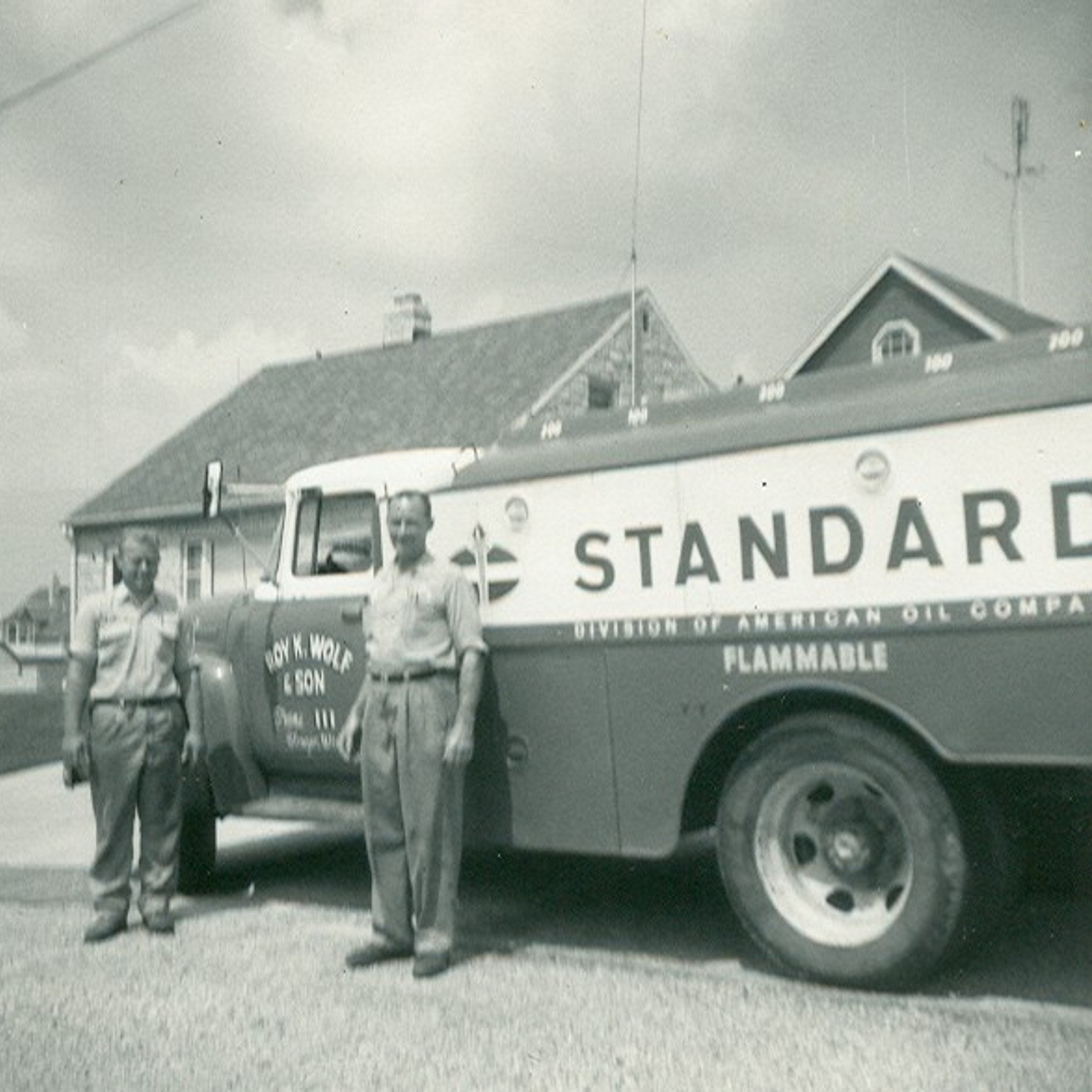 1950's - Roy's son Ed joined the business. Ed held many tasks from truck driving to burner service repair.