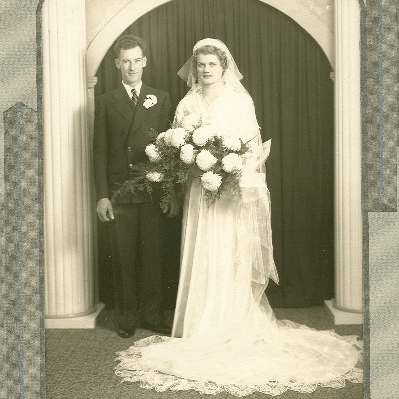 1938 - Roy and Laura (nee: Trott) were united in marriage in Hartford, Wisconsin.