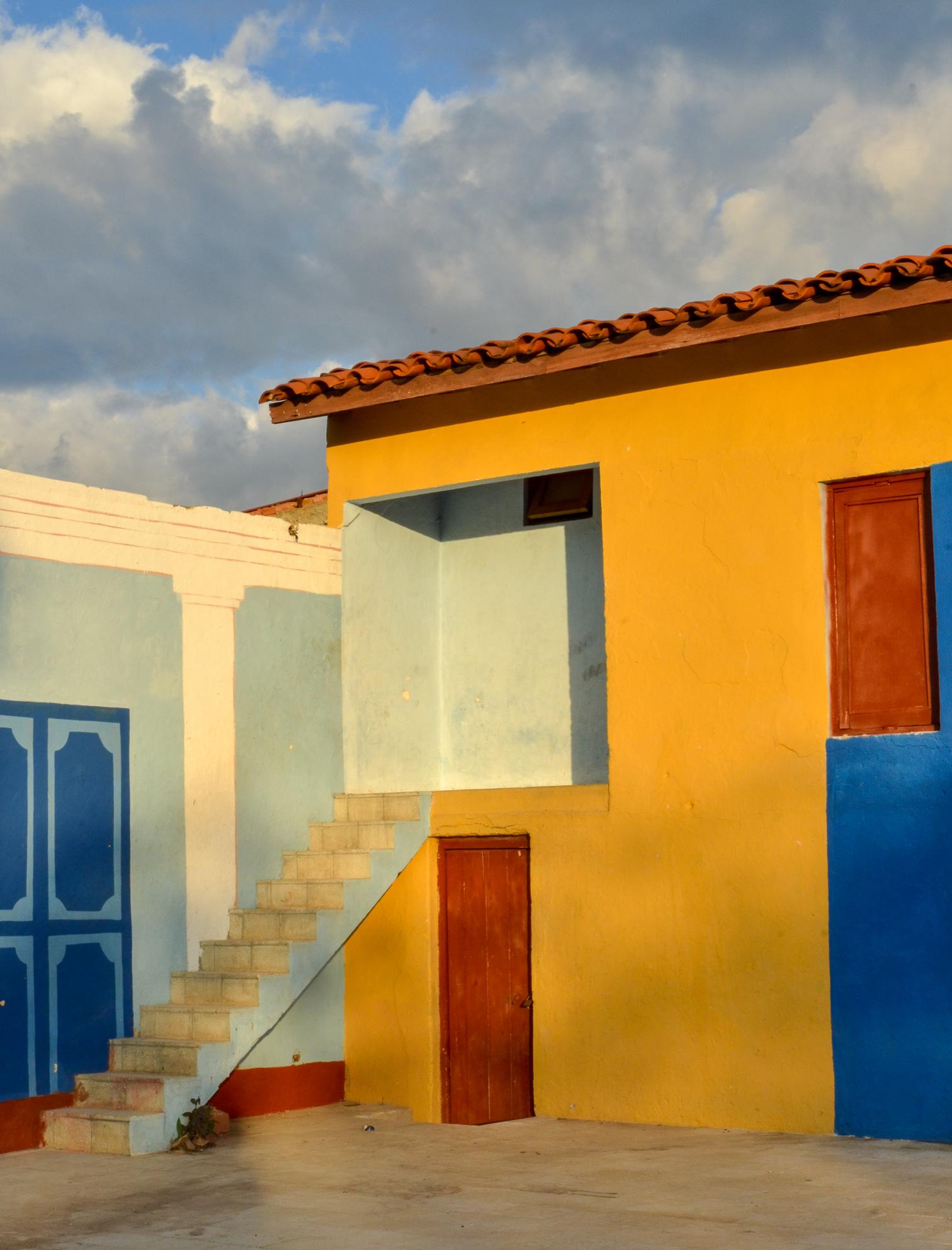 Building in Trinidad Cuba 2015