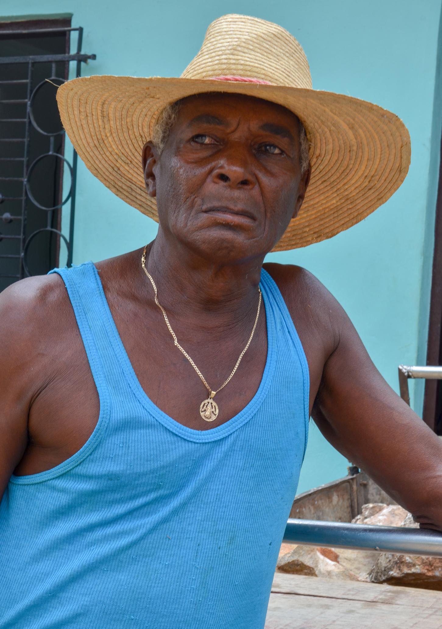 treet Cleaner - Havana Cuba 2015