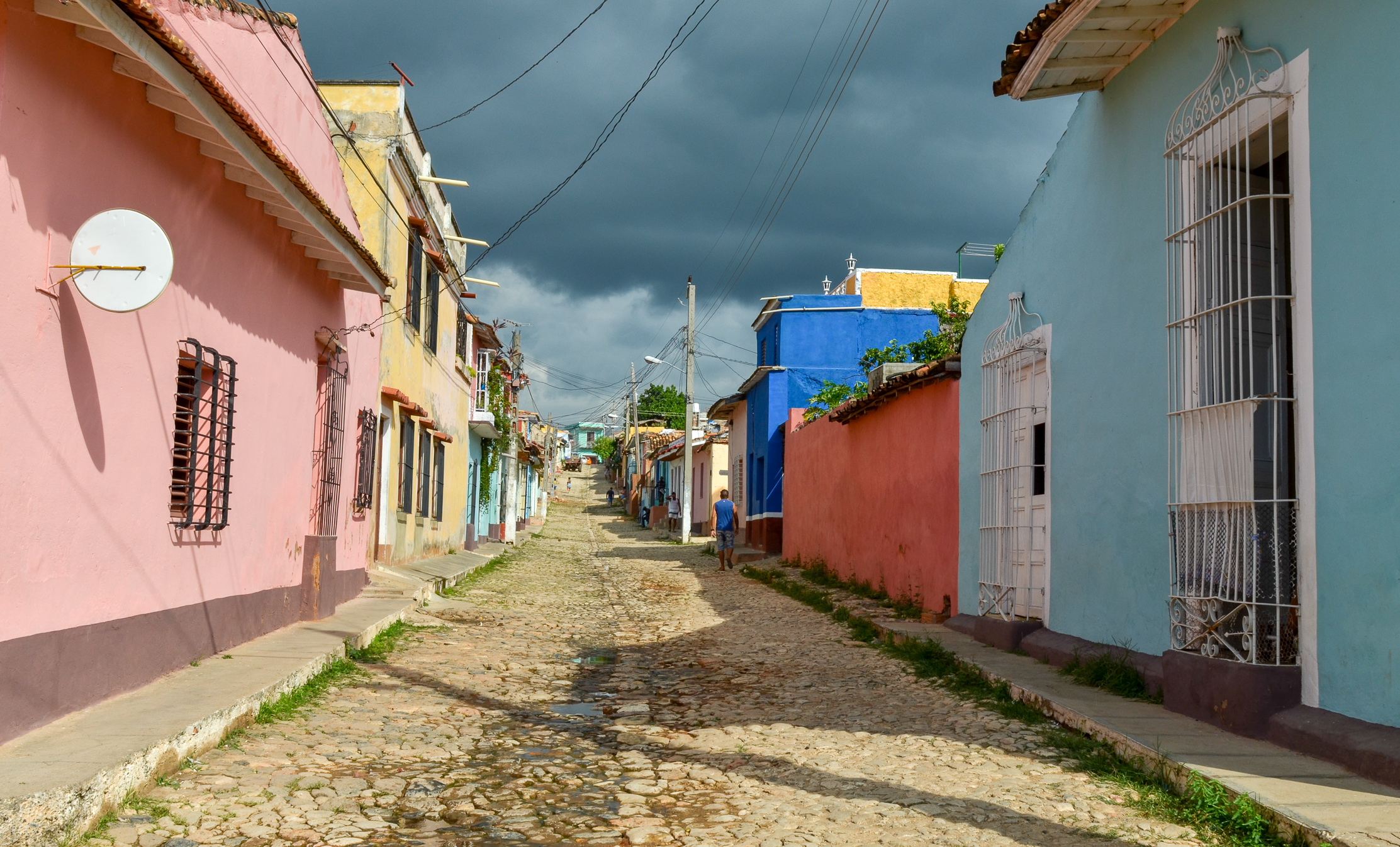 Street in Trinidad Cuba 2015