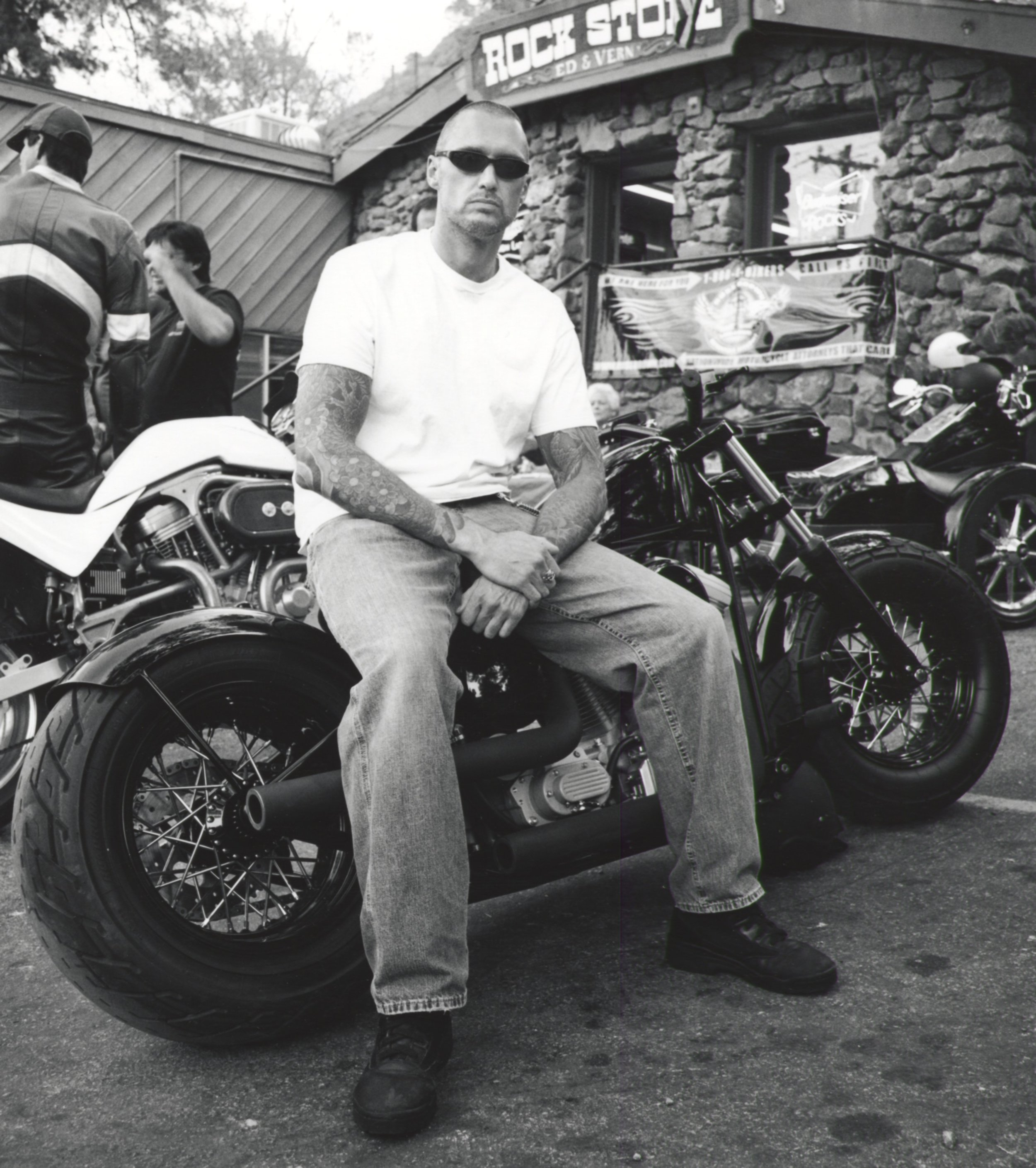 """Russell """" Exile Cycles """" - Rock Store Cornell CA 2002"""