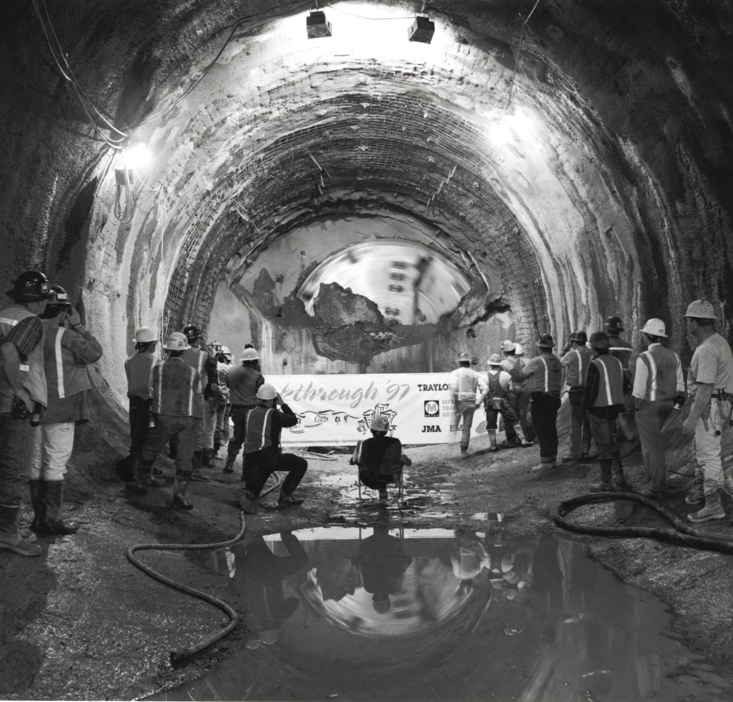 Tunnel Hole Thru Celebration - Hollywood CA 1997