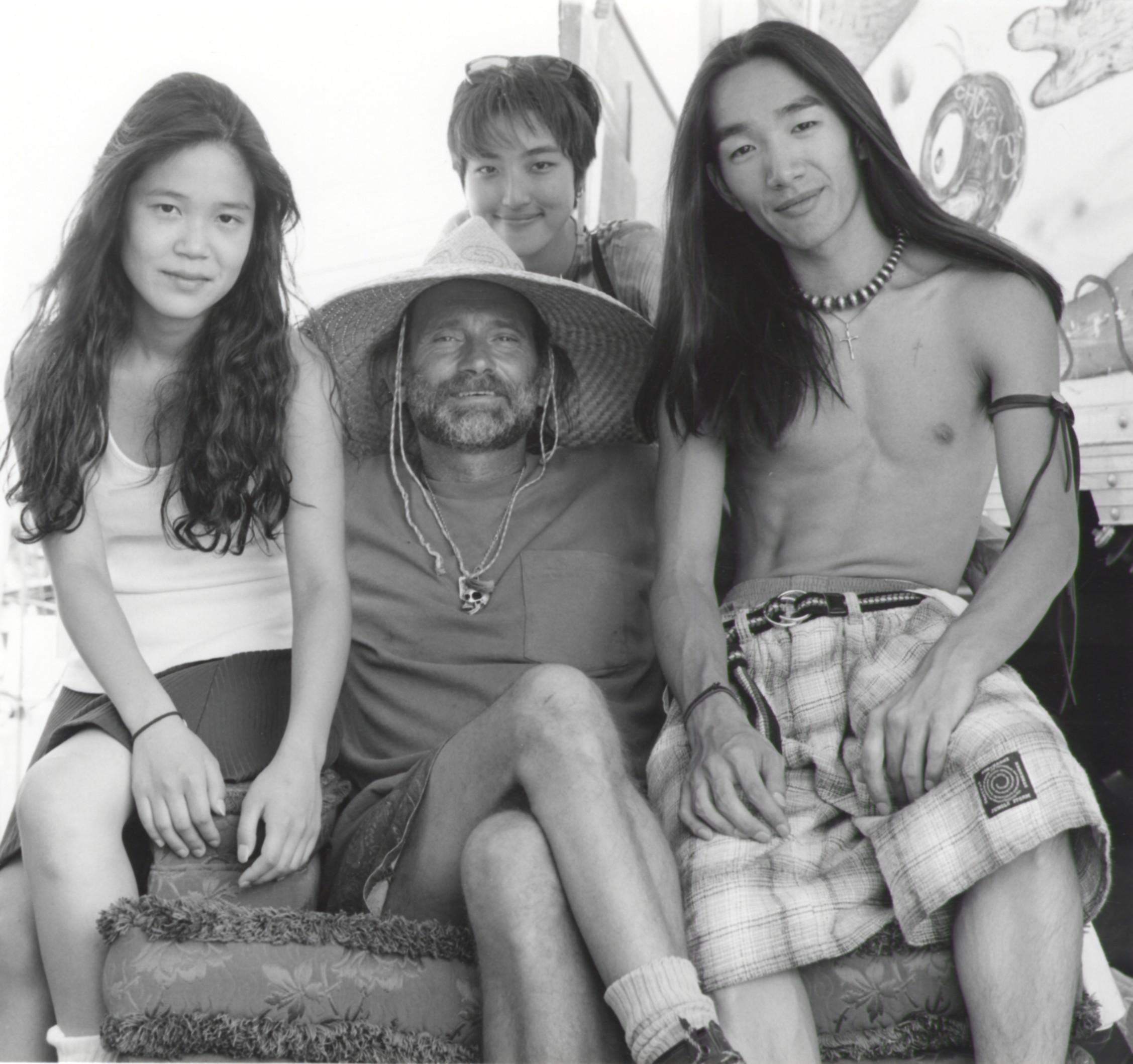 Robert with Friends - Pasadena CA 1994