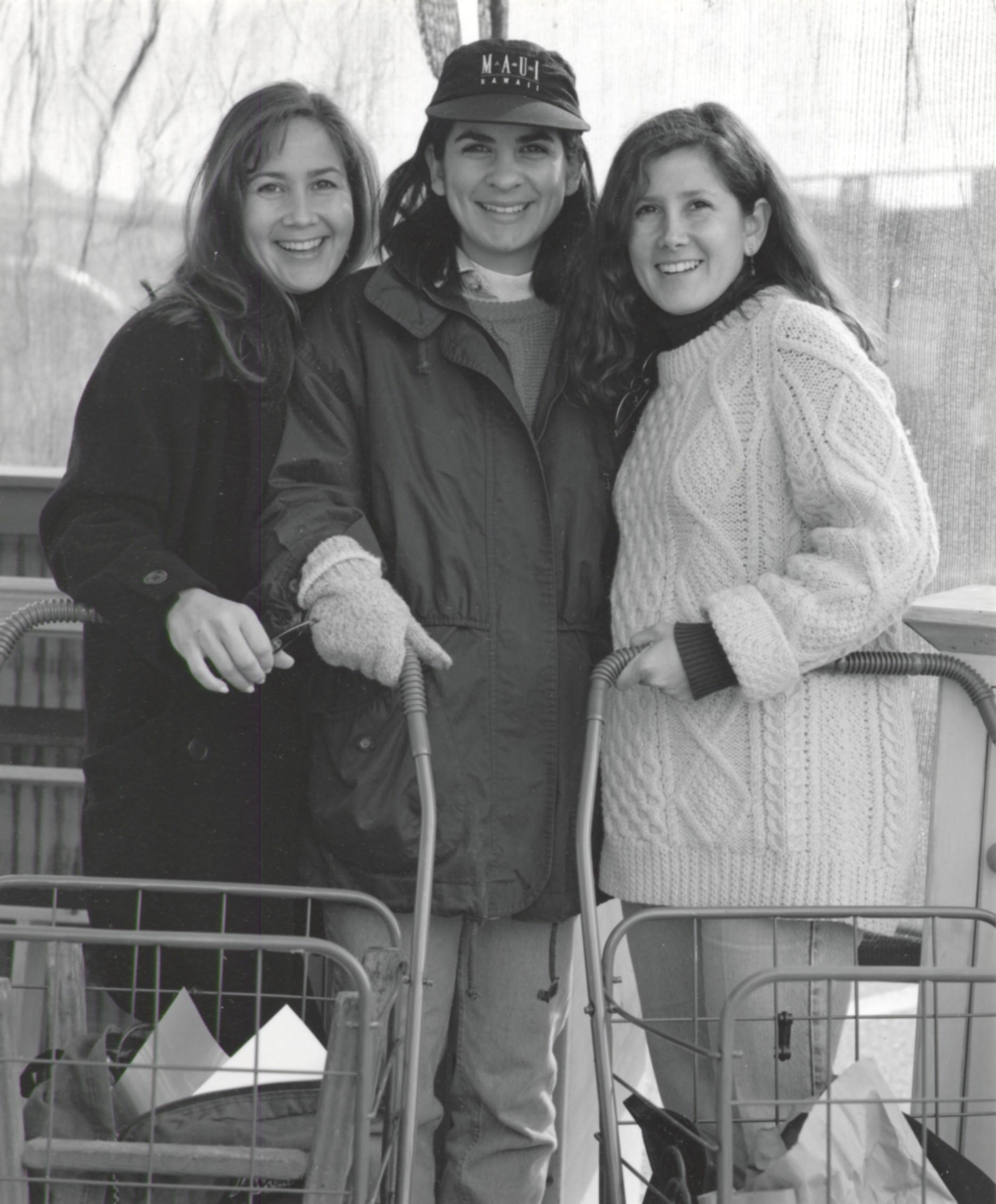 Three Sisters Shopping - Pasadena CA 1994