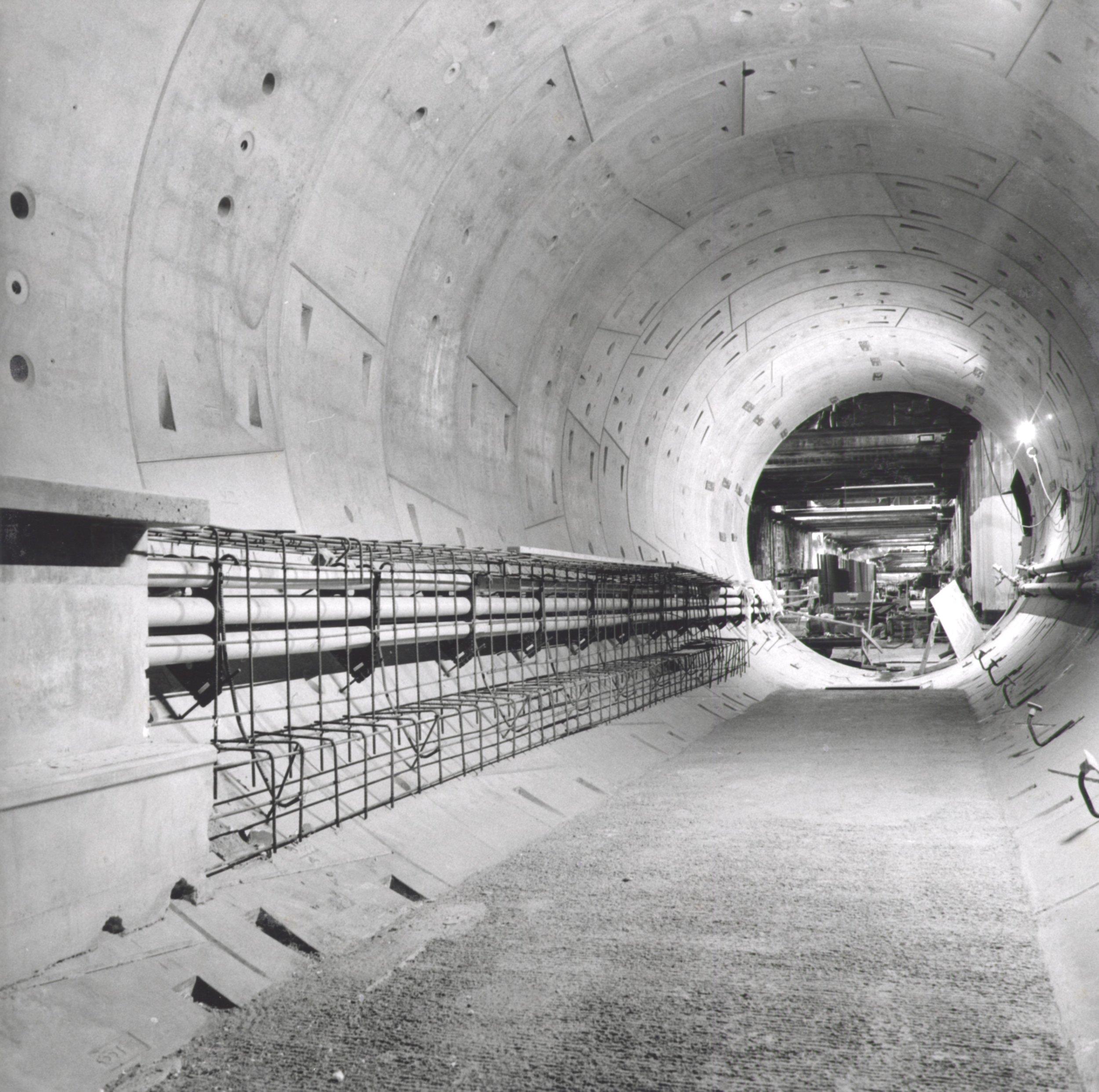 North Tunnel Looking West - Below Flower St. 2019