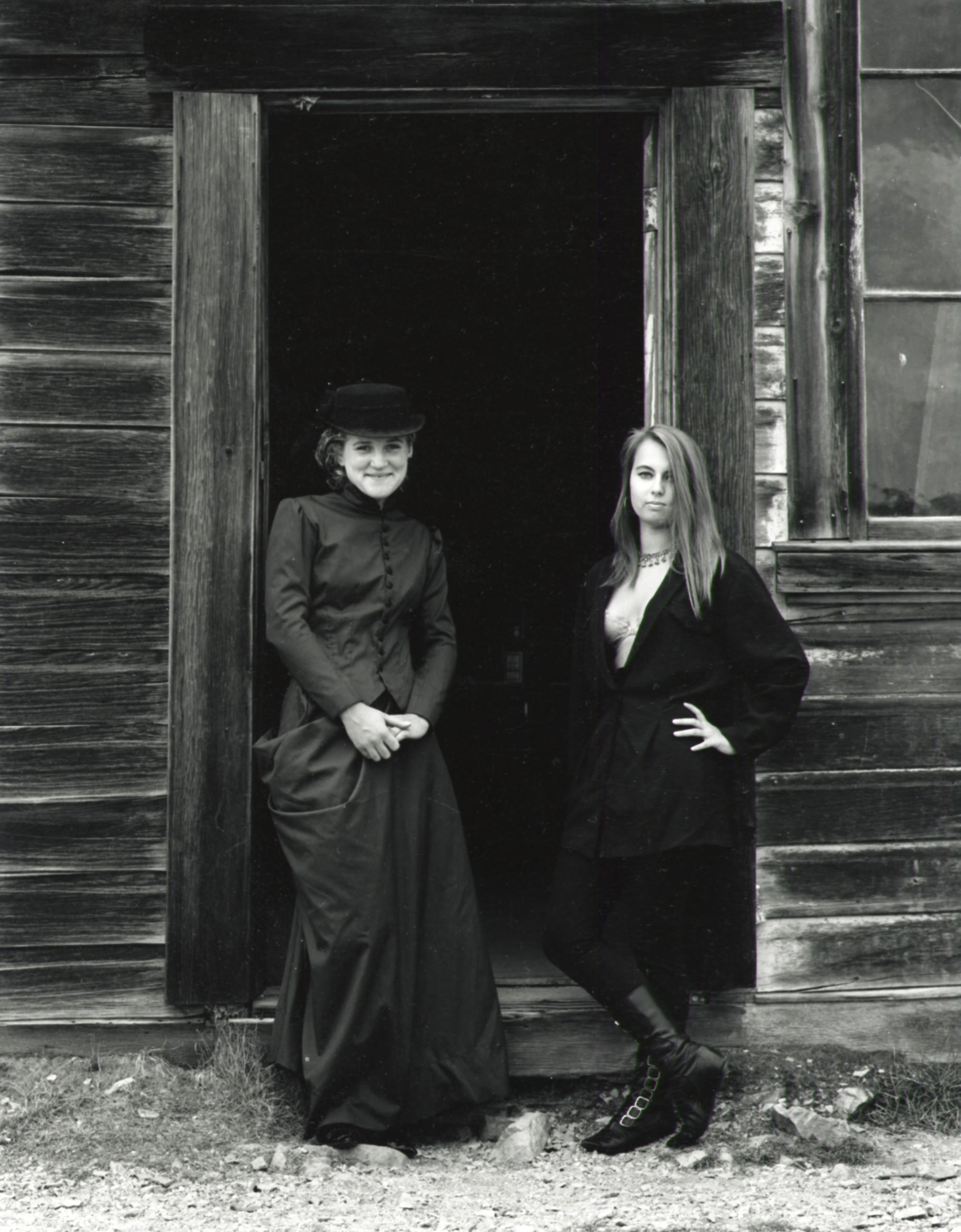 Jodie & Cindy - Bodie CA 1997