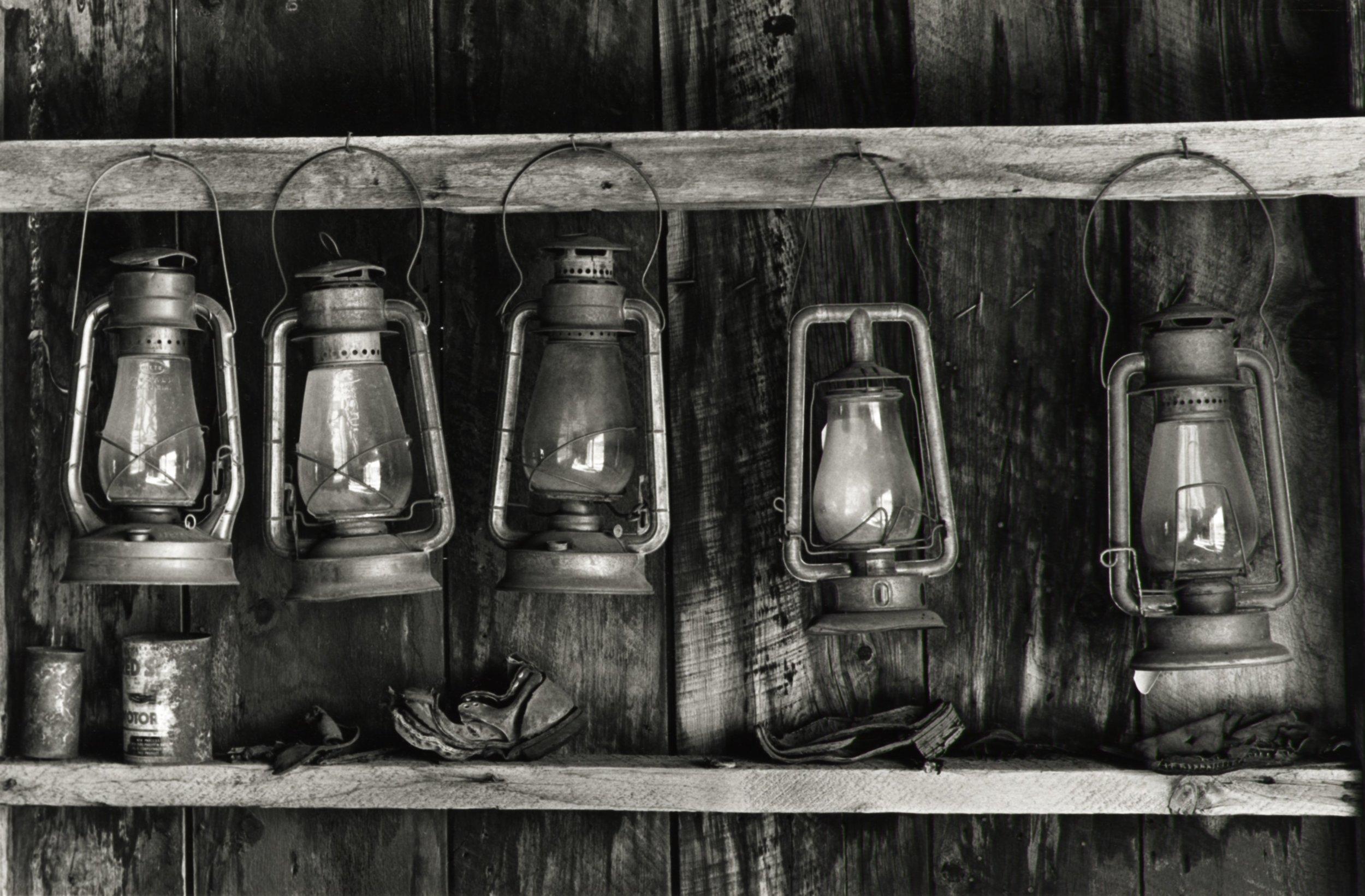 Lanterns - Bodie CA 1991