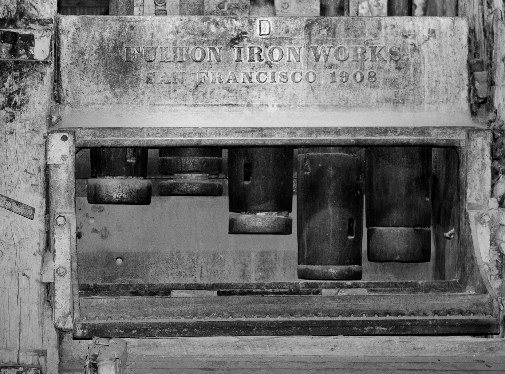 Stamp Mill - Bodie CA 2016