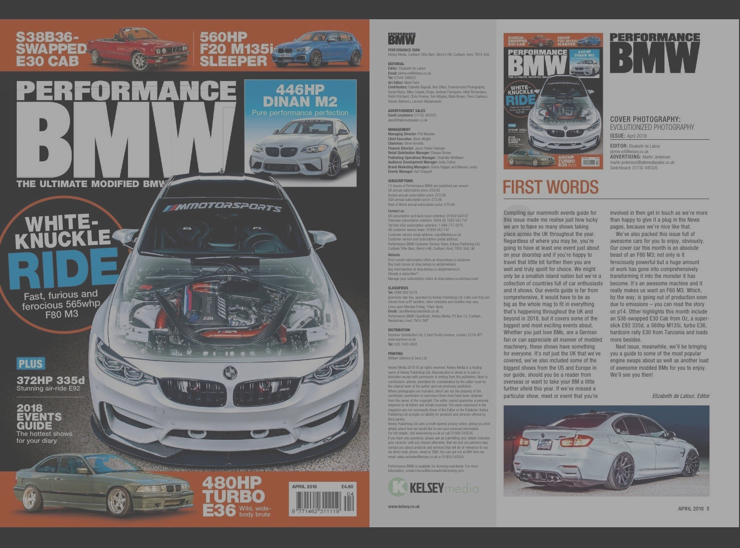 Featured in the World's Most Respected BMW Magazine's