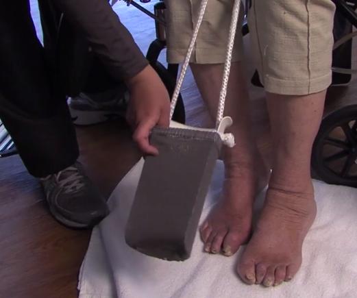 Dementia Part 3: Donning Socks