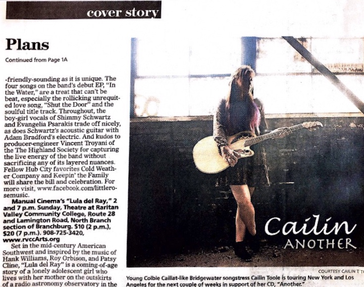 "Courier News/Jan.29, 2016/ Cailin- ""Another"" Album Cover"