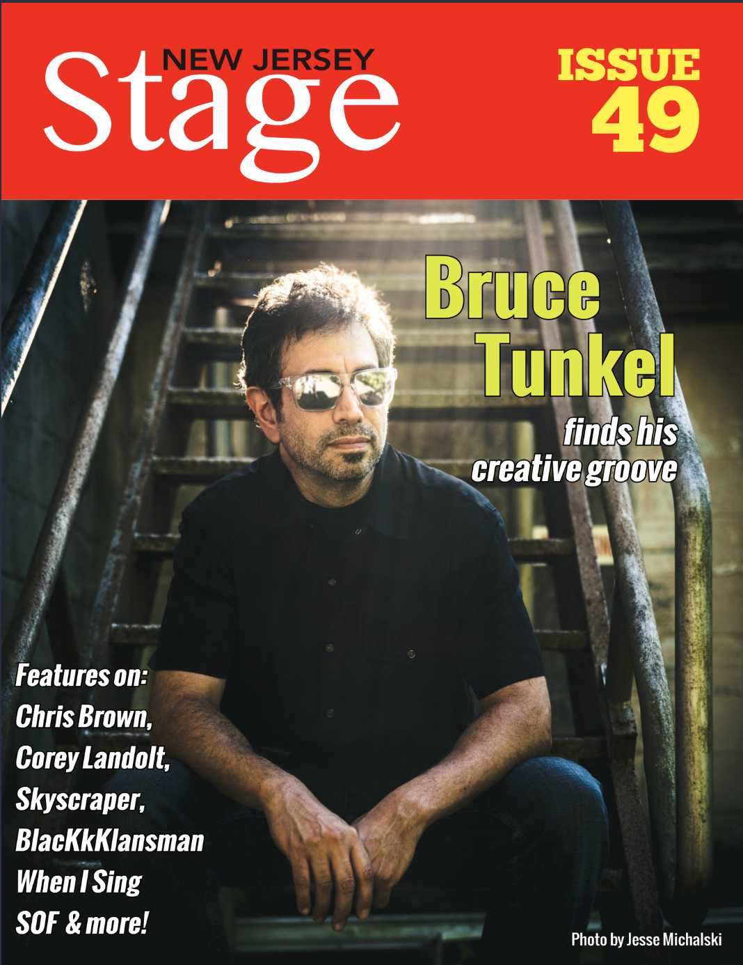 NJ Stage Magazine/Issue 49/ Bruce Tunkle