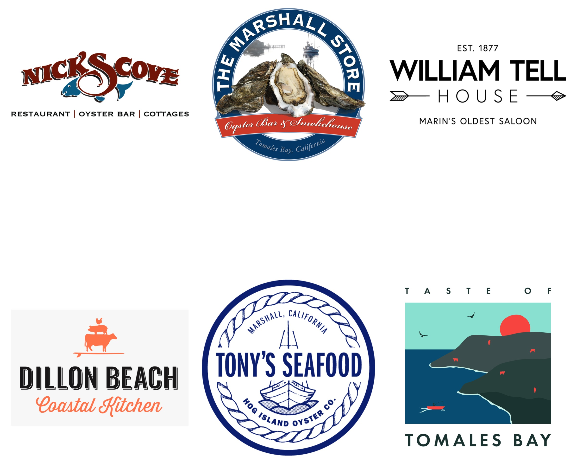 The line up for the first ever Taste of Tomales Bay