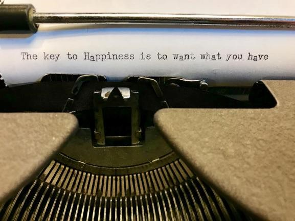 Typewritten note left on the typewriter at  Literati Bookstore  in Ann Arbor, Michigan. Author unknown.