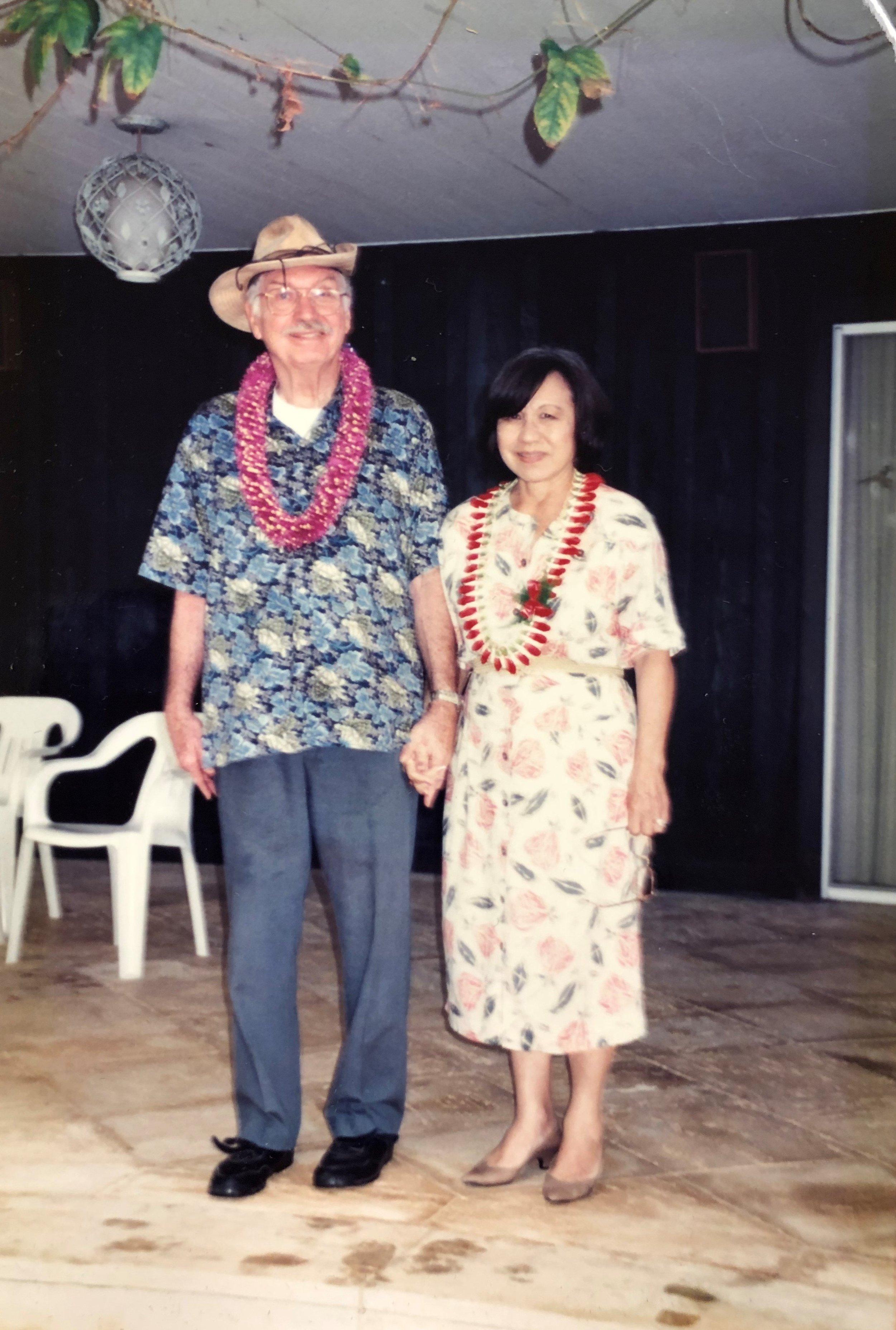 Bill and Lei Johnson