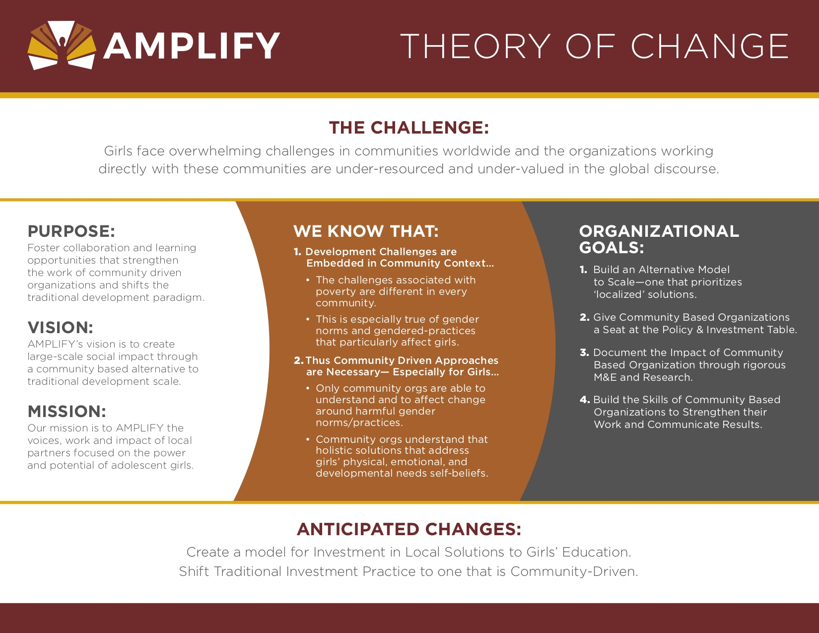 Amplify Theory of Change