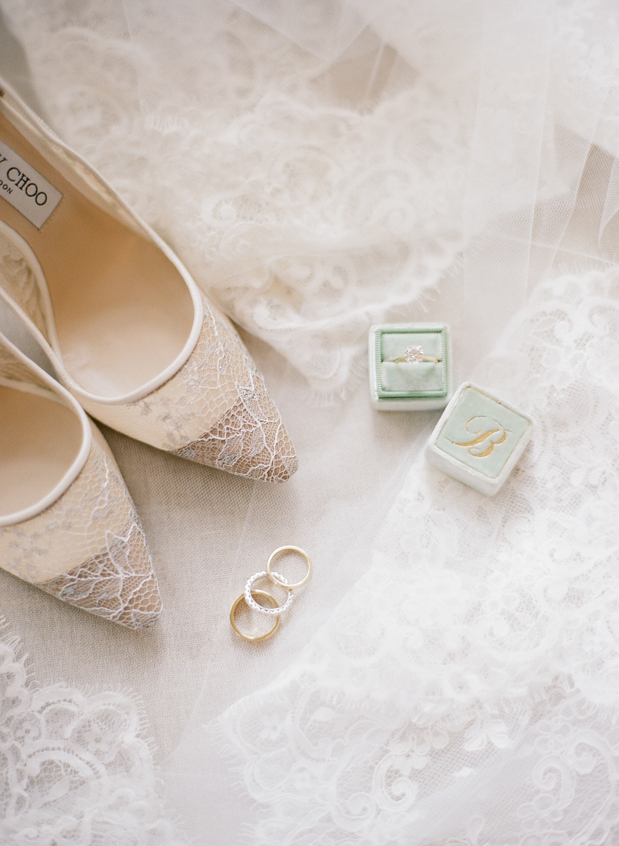 """""""For shoes, I generally want more of the bride's personal details and want to make it feel like I'm giving you an intimate getting ready moment."""""""