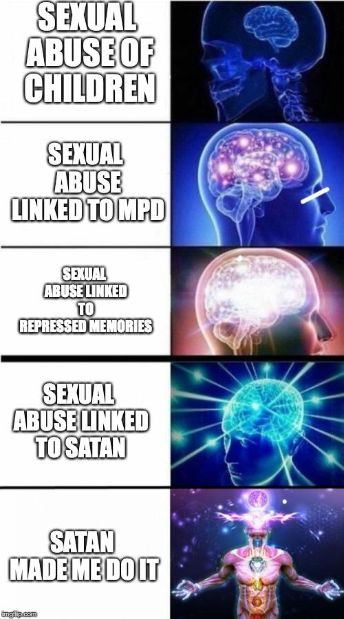 Satan - Everyone's favorite scapegoat.