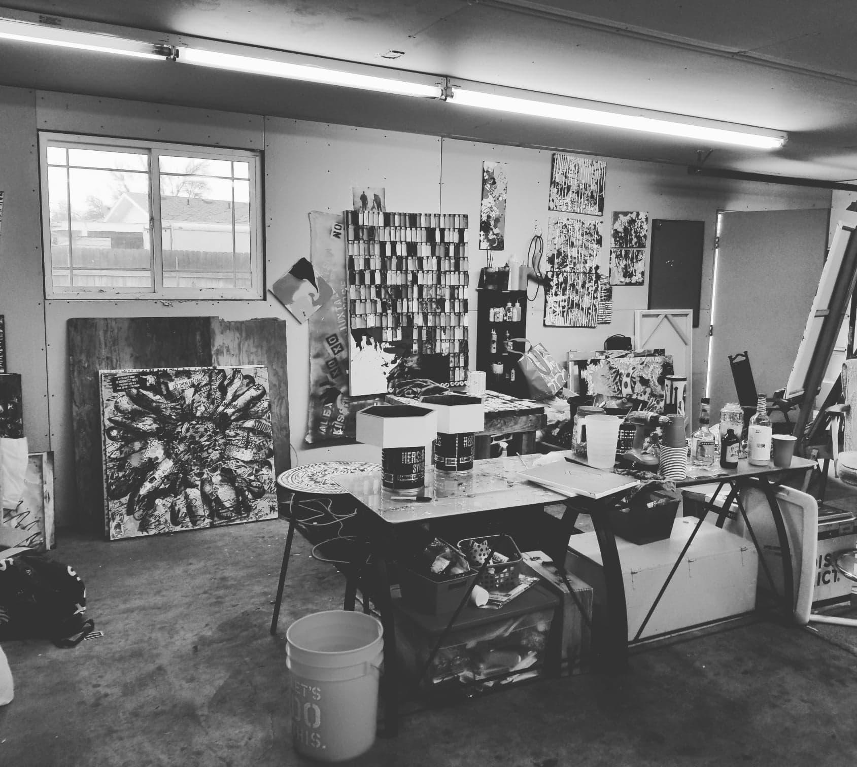 Garage Studio 2017-2018 Richland, WA