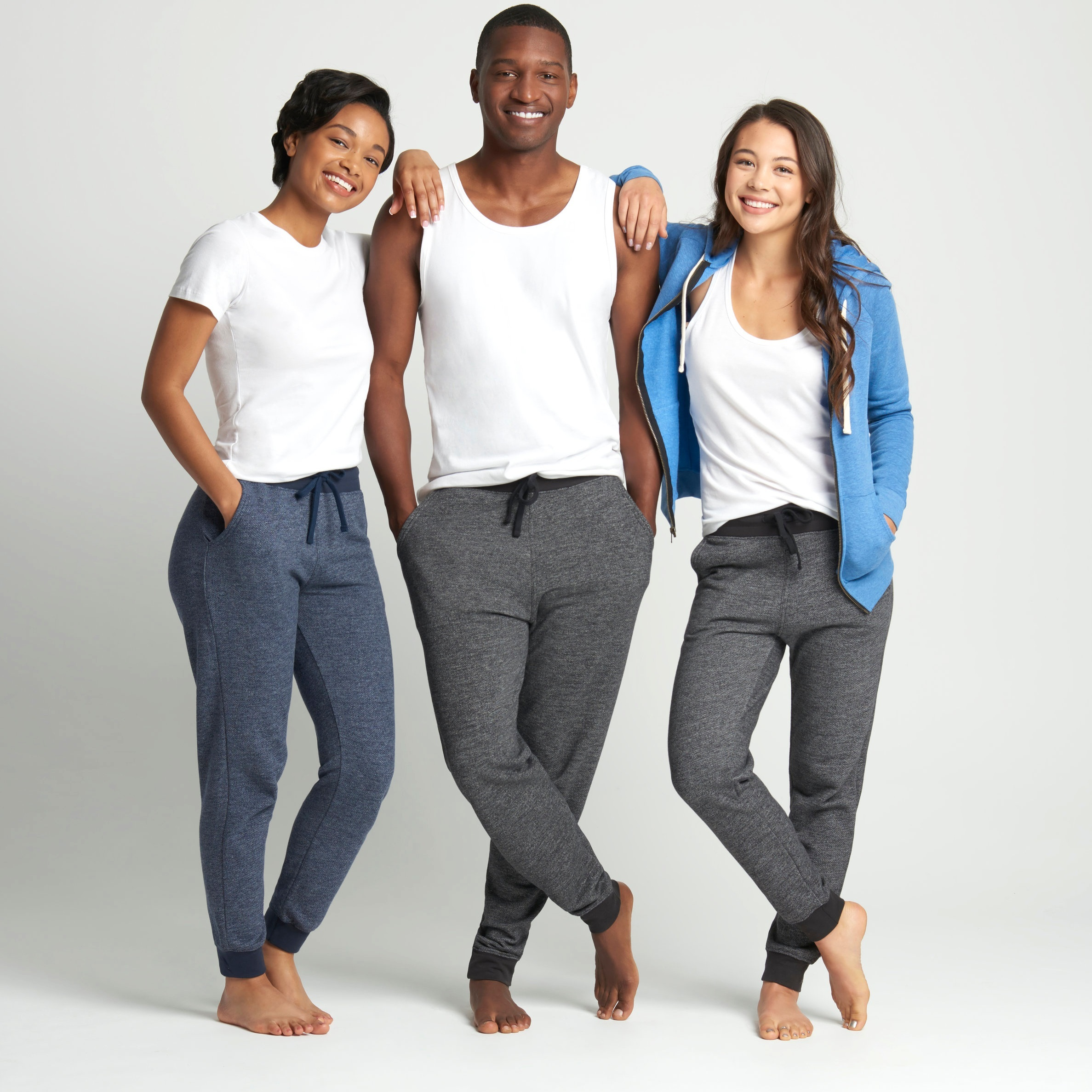 Next Level Apparel Men's & Women's Denim Fleece Jogger - 9800 & 9801