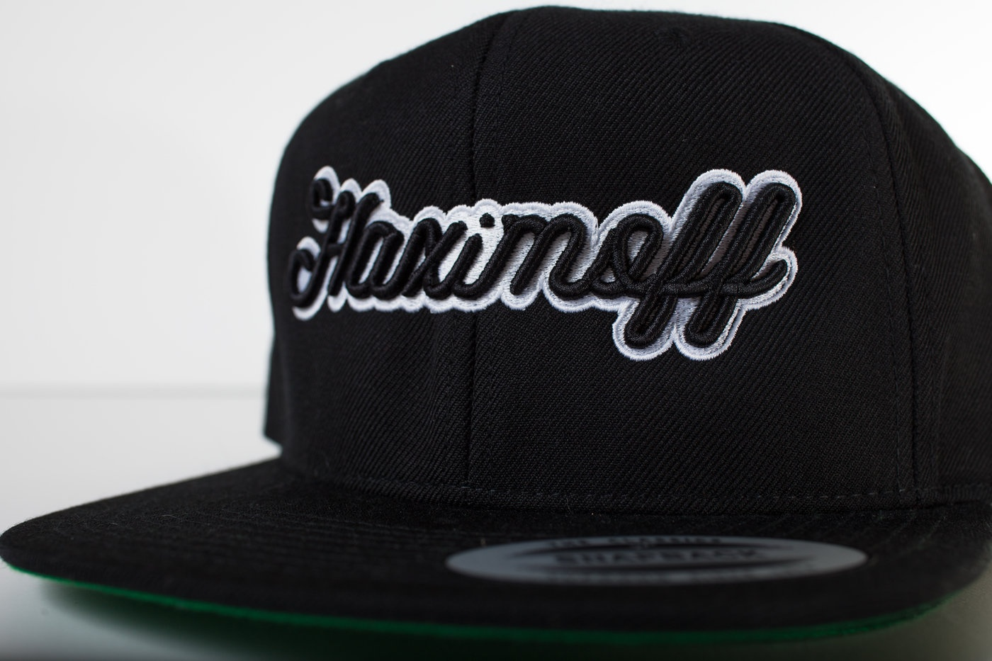 3-D embroidery by Hirsch Solutions   PRODUCT PICK:  Check out our  YUPOONG Classic Flat Bill Snapback .