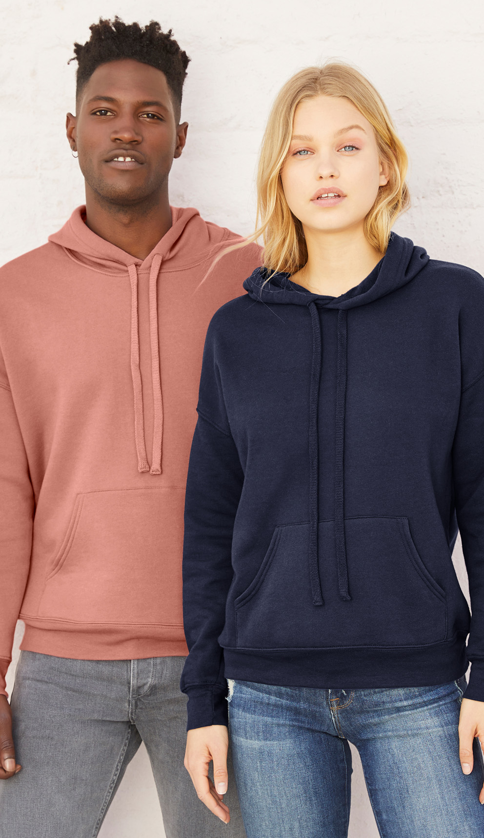 Bella+Canvas Unisex Sponge Fleece DTM Hoodie—3729