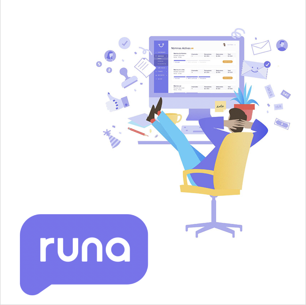 Runa   An HR software-as-a-service platform for Latam companies  Co-invested with Ribbit Capital