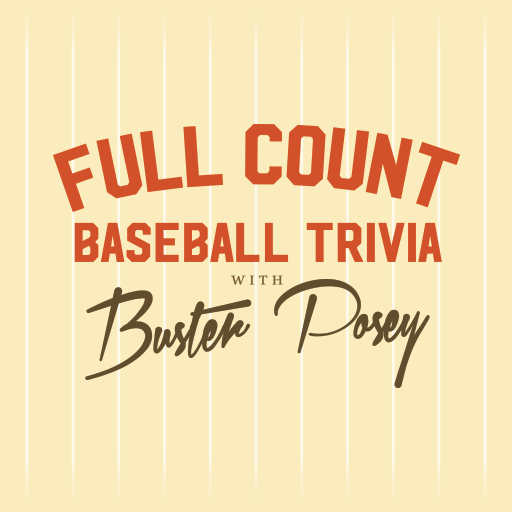 Full Count Baseball Trivia with Buster Posey - Buster Posey hosts a hilarious daily trivia game where you can play with the pros, challenge your friends, and climb the ranks of the baseball trivia legends.