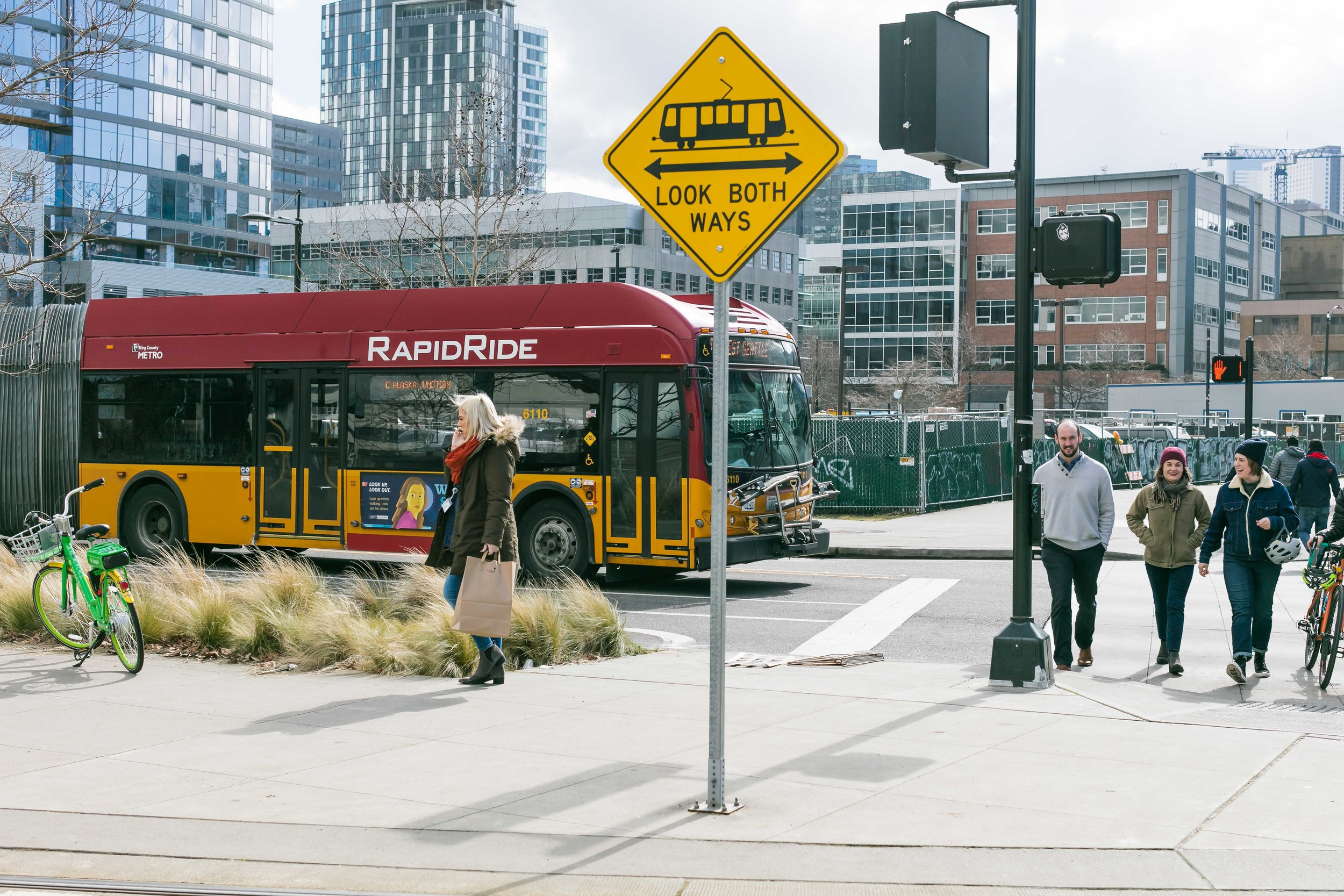 Getting Around - South Lake Union has the transportation options to take you where you want to go.