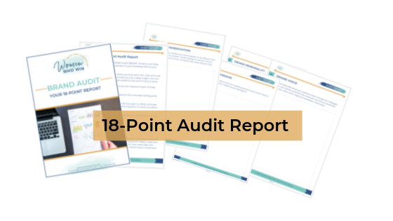 18-point brand audit report