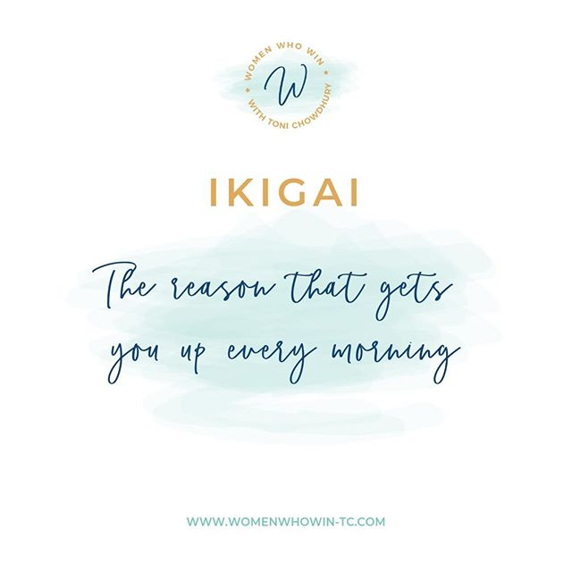 """Ikigai is Japanese for the """"𝓇𝑒𝒶𝓈𝑜𝓃 𝒻𝑜𝓇 𝒷𝑒𝒾𝓃𝑔."""" It's the reason that 𝗙𝗜𝗥𝗘𝗦 you up every morning, the reason to enjoy life!🤩  You know you have found your Ikigai when you have found: ✅what you 𝐋𝐎𝐕𝐄 ✅what you are 𝐆𝐎𝐎𝐃 𝐀𝐓 ✅what the 𝐖𝐎𝐑𝐋𝐃 𝐍𝐄𝐄𝐃𝐒 ✅what you can 𝐁𝐄 𝐏𝐀𝐈𝐃 𝐅𝐎𝐑  """"𝘔𝘪𝘥𝘭𝘪𝘧𝘦: 𝘞𝘩𝘦𝘯 𝘵𝘩𝘦 𝘜𝘯𝘪𝘷𝘦𝘳𝘴𝘦 𝘨𝘳𝘢𝘣𝘴 𝘺𝘰𝘶𝘳 𝘴𝘩𝘰𝘶𝘭𝘥𝘦𝘳𝘴 𝘢𝘯𝘥 𝘵𝘦𝘭𝘭𝘴 𝘺𝘰𝘶 """"𝘐'𝘮 𝘯𝘰𝘵 𝘧-𝘪𝘯𝘨 𝘢𝘳𝘰𝘶𝘯𝘥, 𝘶𝘴𝘦 𝘵𝘩𝘦 𝘨𝘪𝘧𝘵𝘴 𝘺𝘰𝘶 𝘸𝘦𝘳𝘦 𝘨𝘪𝘷𝘦𝘯"""" - Brene Brown  What I'm passionate about is helping women win at life! This involves understanding each individual's journey to help craft their life's vision into reality and define their purpose! And so finding your Ikigai is a very enlightening process and is totally worth the time to create the life you want and business around it!  Have you discovered yours yet?🌟"""