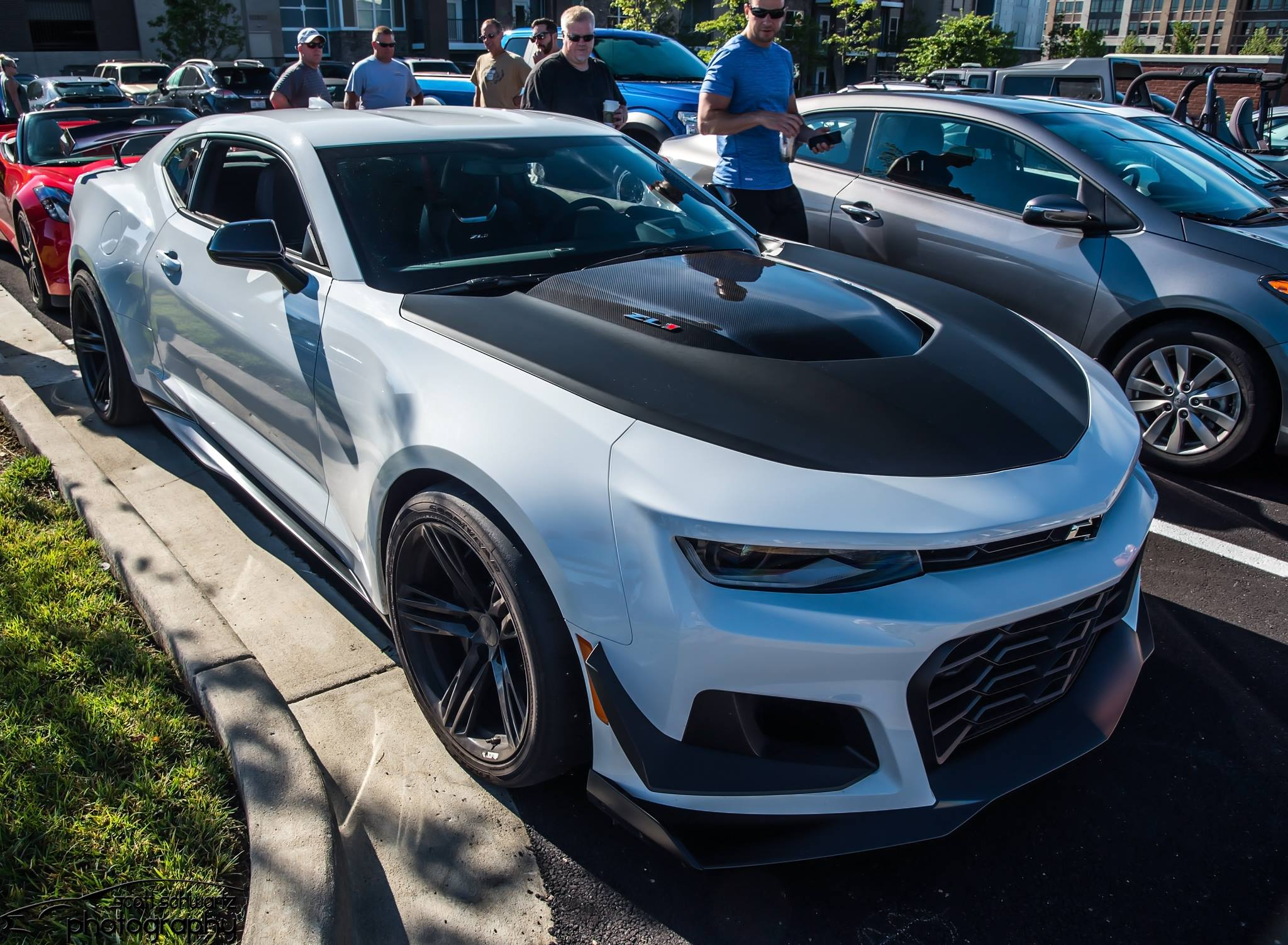 Photo: Scott Schwartz Photography    Our late 2017 surprise… a Camaro ZL1 1LE fresh off the track brought to us by the team in Detroit