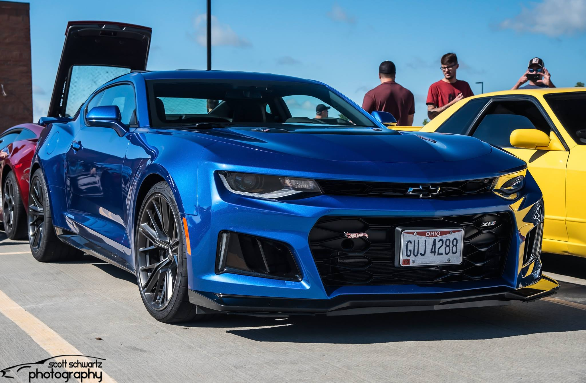 photo: Scott Schwartz Photography  Also in attendance was this ZL1 Hot Wheels Edition.