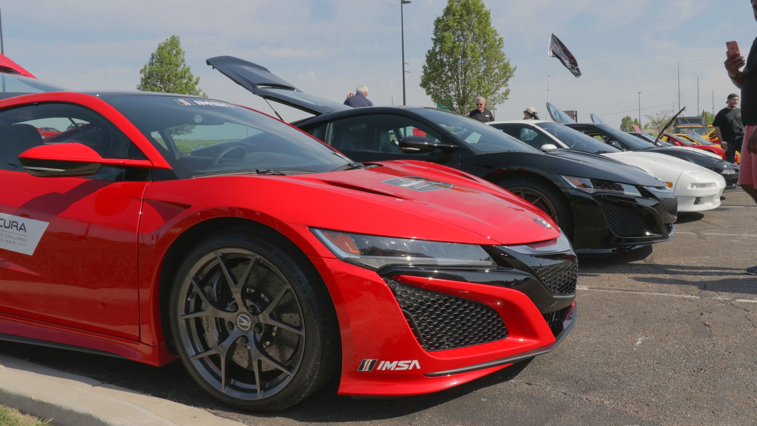 Acura NSX - IMSA Weathertech Promotional Car - Dayton Cars and Coffee.jpg