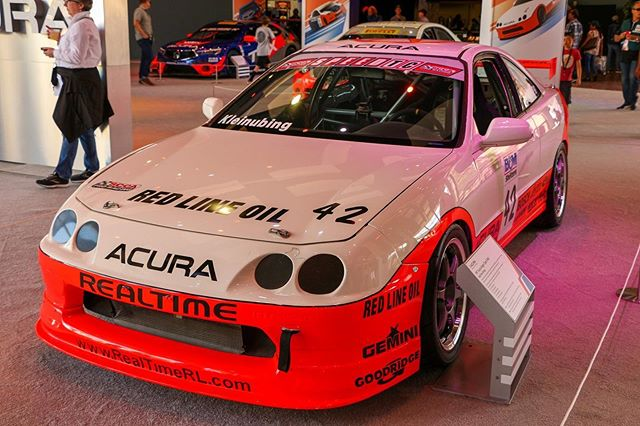 Presenting most winning @Acura #integra #TypeR in history, AND this legendary @realtimeacura car will be on display this Saturday thanks to @superioracuradayton. #daytoncarsandcoffee #realtimeracing #integratypeR #acuraracing #d8nstrg #daytonstrong #fuelandtires