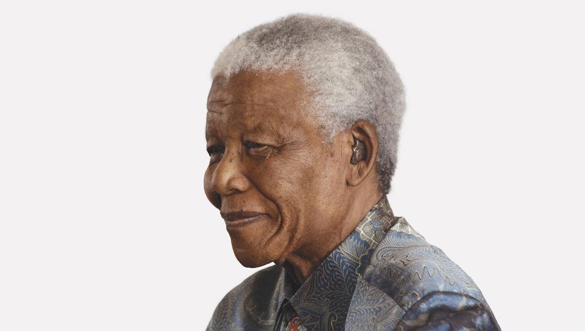 Nelson Mandela from Wisdom, image by Andrew Zuckerman, copyright © Nelson R. Mandela