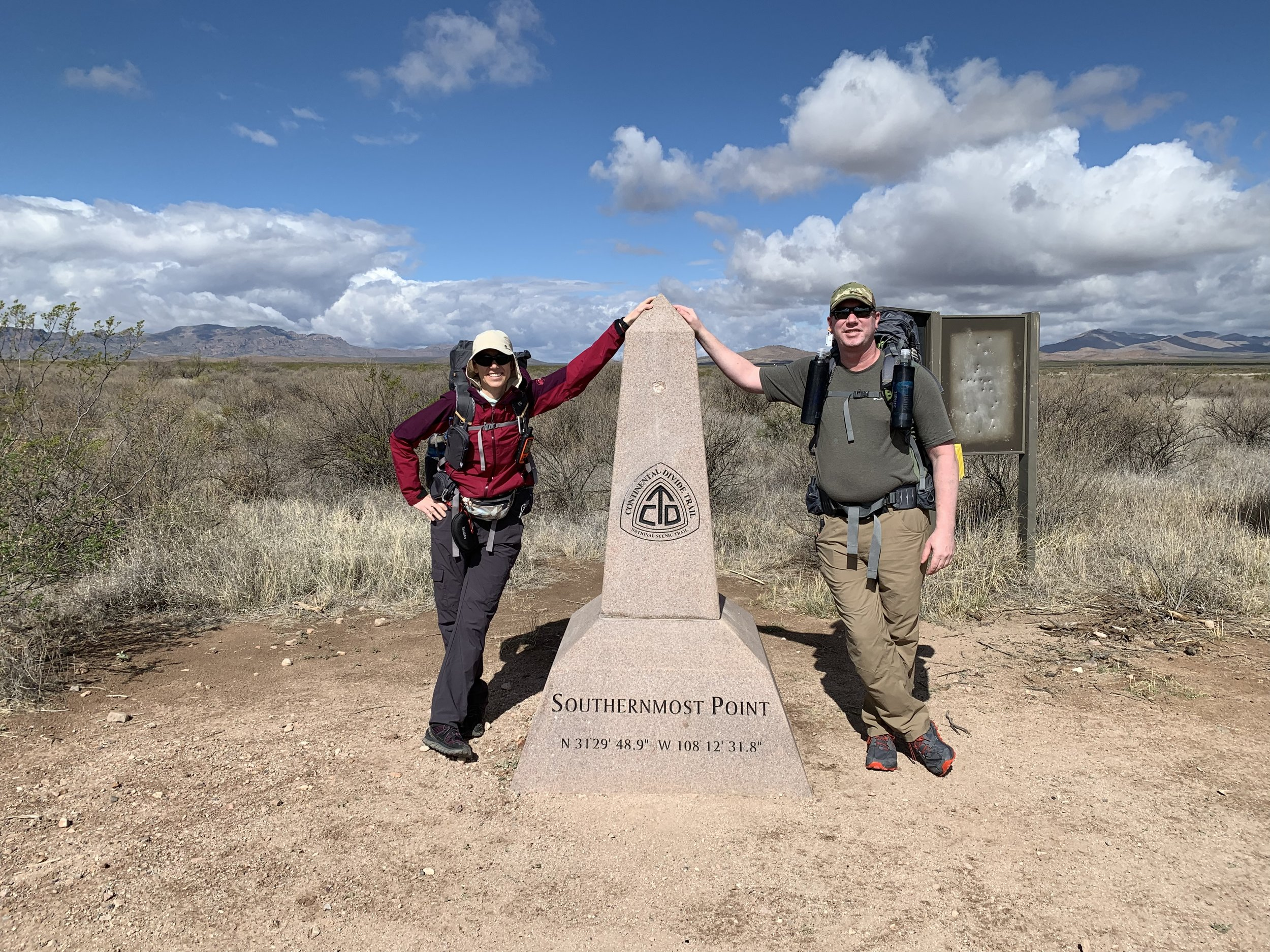 Update 4/17/19 - On April 15th, I flew out to Tucson, AZ, picked up some last minute supplies at the local REI with the help of my cousin, Inian, and Took a bus to Lordsburg, NM. From there, in the early morning of the 17th, I took a shuttle to the Southern Terminus of the Continental Divide Trail and will attempt to hike 2,716 miles northbound to the border of Glacier National Park and Canada's Waterton Lakes.