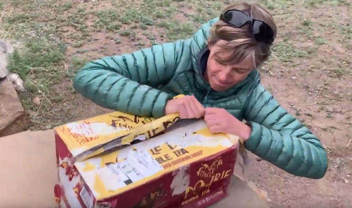 Update 5/6/19 - I made it to Pie Town, covering almost 340 miles thus far in this beautiful state of New Mexico. Click on the image to the left for video of me opening my first resupply package from the one and only, Dr. Ginger Snap. I had a sneaking suspicion that he would add a few amazing treats in there, and of course, he did! Thanks to 'Nascar' for his videography skills and willingness to try my favorite candy. I spent a ZERO day in Pie Town, population 50. I managed to fill my day with slow wi-fi, some general store perusing, blister healing, and pie eating. Things are going well so far, but there are rumors of hikers further ahead who are slowing down due to some snow north of Grants, NM.If you want more of a daily view of what's going on, check out the pics and commentary on my Instagram feed!