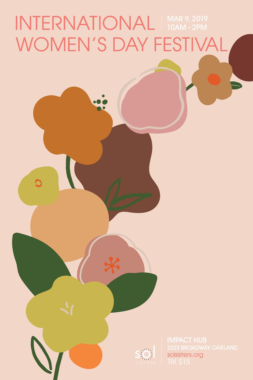 International Women's Day Festival 2019   illustration, graphic design