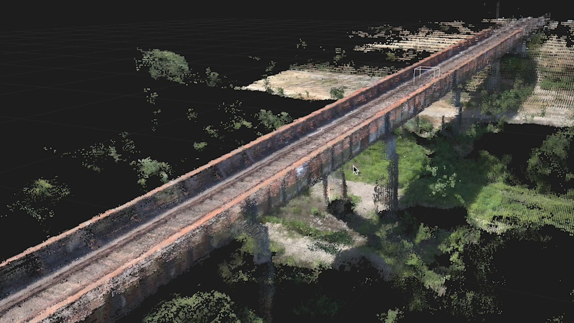PROCESS - Hundreds of photos are then stitched together into a high resolution 3D point cloud.