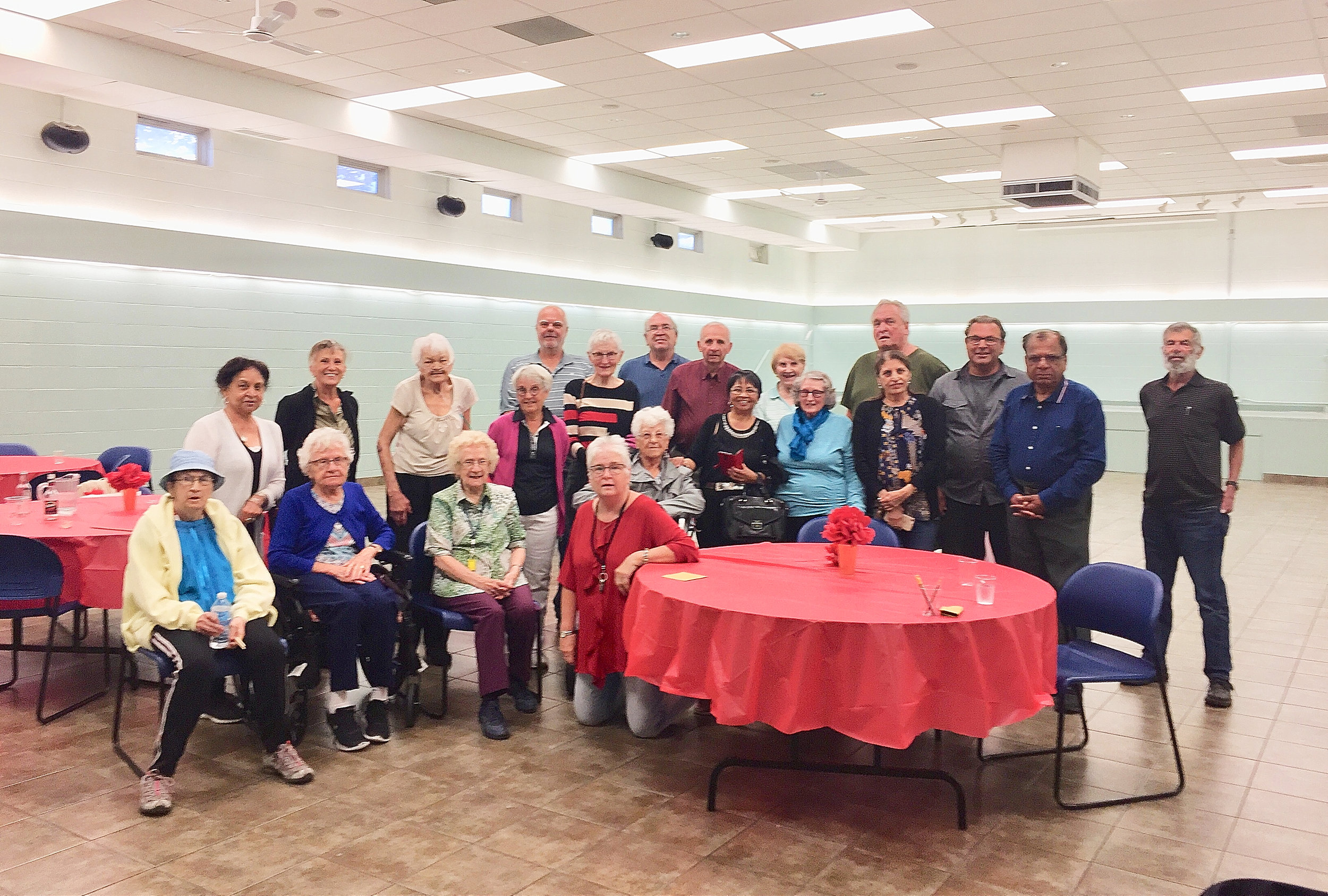 Seniors Dinner at Crossroads Community Hall