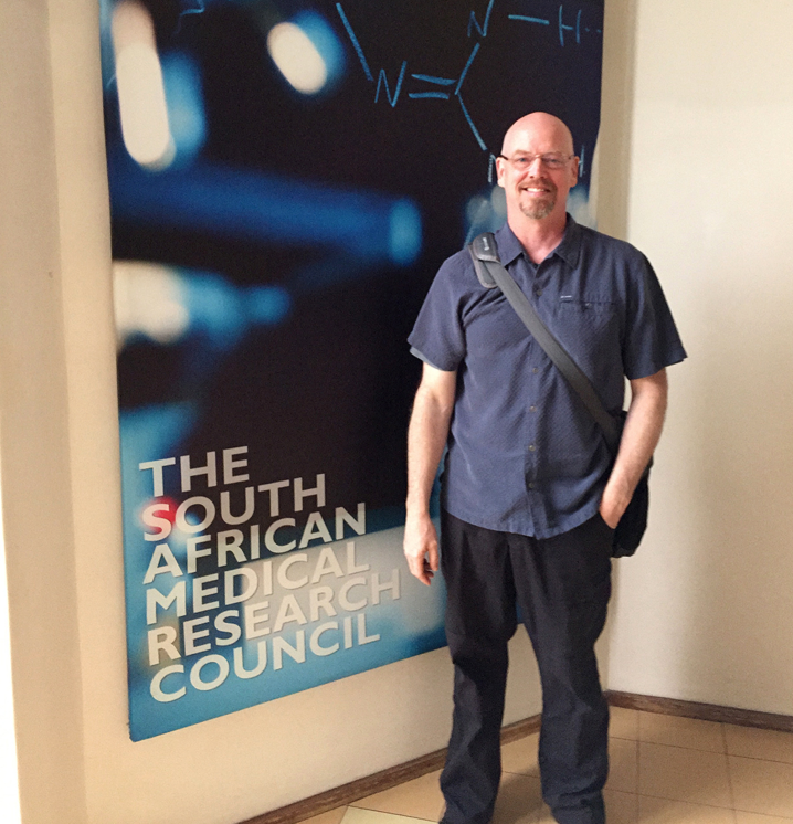 Dr Marks at South African Medical Research Council