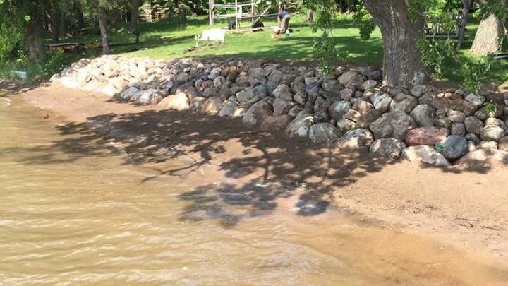 Ryan Tree and Landscape - Riprap Shoreline