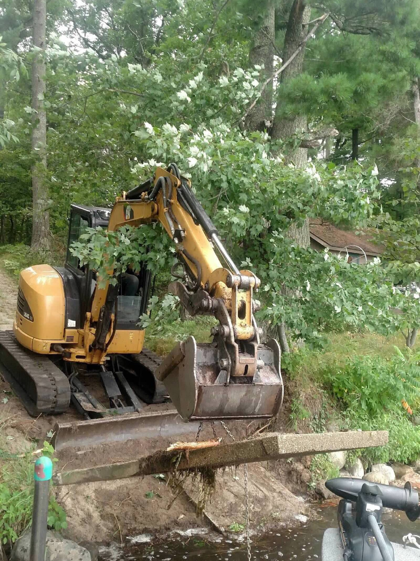 Property Excavating by Ryan Tree & Landscape Service