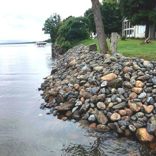 Ryan Tree and Landscape Rip Rap Shoreline