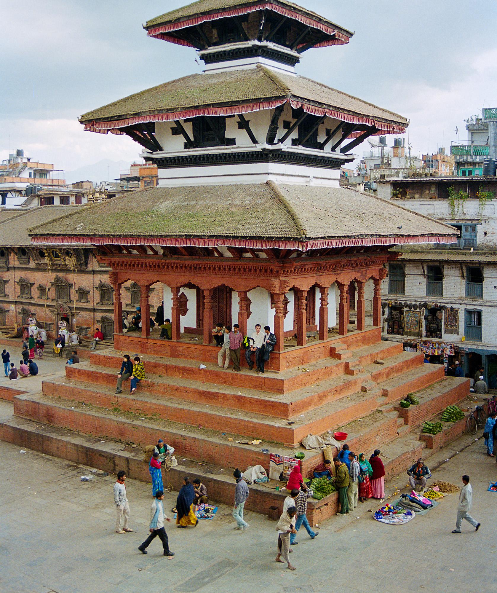 Kathmandu Durbar Square, Nepal 1999