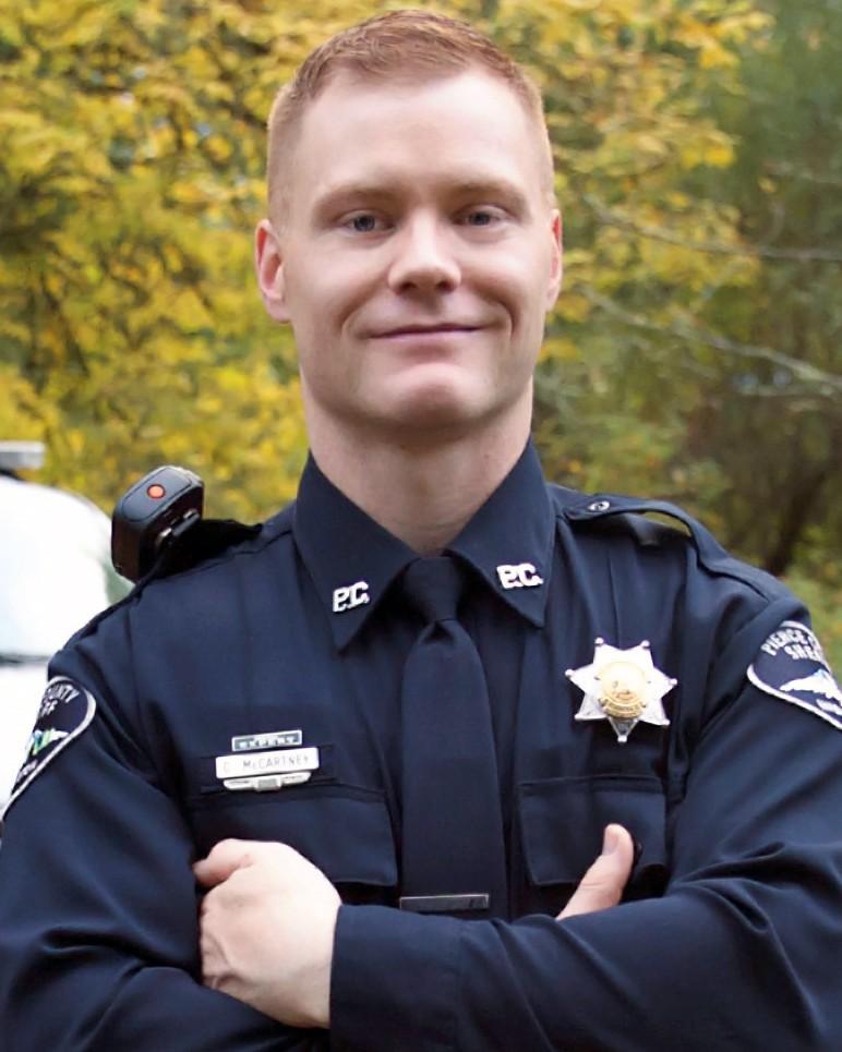 Deputy SheriffDaniel A. McCartney - Pierce County Sheriff's Department, WashingtonEnd of Watch: Monday, January 8, 2018
