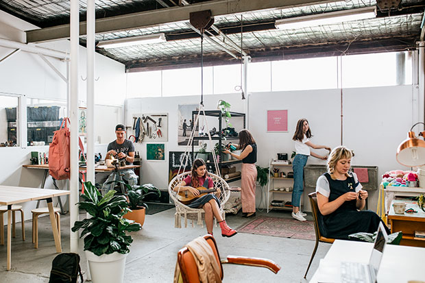 The Common Good coworking space in Freemantle  Photo credit: Frankie Magazine