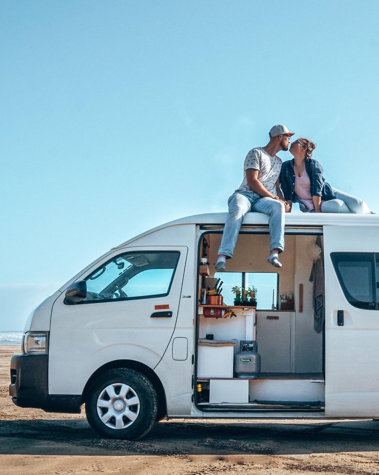 Craving Adventure - New Zealand - Travel - Adventure - Couple - Van life - Beach - Blog